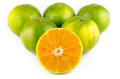 Mandarin orange,Tangerines fruit Stock Images