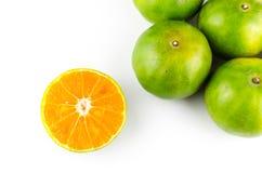 Mandarin orange,Tangerines fruit Royalty Free Stock Photography