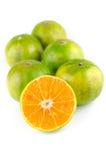 Mandarin orange,Tangerines fruit Stock Photos