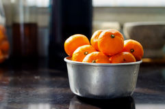 Mandarin orange Stock Photos