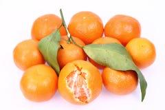 Mandarin oranges Stock Photography