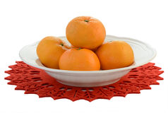 Mandarin oranges Stock Photography