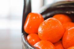 Mandarin Oranges Royalty Free Stock Images