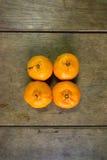 The mandarin oranges Royalty Free Stock Image