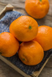 Mandarin Oranges - mandarin oranges Royalty Free Stock Image