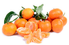 Mandarin oranges Royalty Free Stock Photography