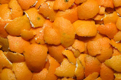 Mandarin Peel Royalty Free Stock Photos