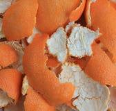 Mandarin Peels Stock Images