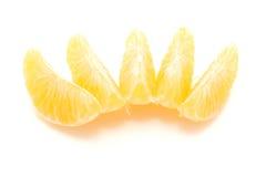 Mandarin pieaces Royalty-vrije Stock Afbeelding