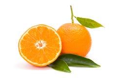 Mandarin (satsuma or tangerine) Stock Photo