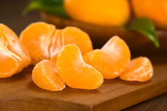 Mandarin Segments Royalty Free Stock Photo