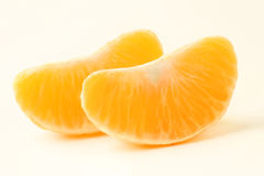 Mandarin slice Royalty Free Stock Photography
