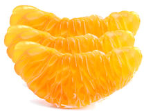 Mandarin slice Stock Photo