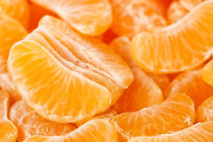 Mandarin slices Royalty Free Stock Image