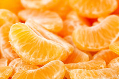 Mandarin slices Royalty Free Stock Images
