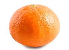 Mandarin som isoleras på vit bakgrund Arkivfoton