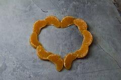 mandarin stearinljusmandarin Royaltyfria Bilder
