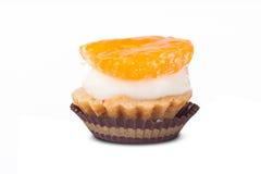Mandarin Tasty Cake Royalty Free Stock Photo
