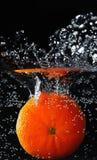 Mandarin under water Royalty Free Stock Photos