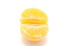 Mandarin vanaf bovenkant Stock Afbeeldingen