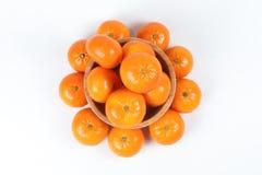 Mandarina de la mandarina Fotografía de archivo libre de regalías
