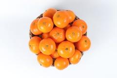 Mandarina de la mandarina Foto de archivo libre de regalías