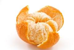 Mandarina madura hermosa Imagen de archivo libre de regalías