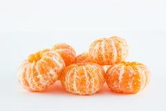 Mandarina, reticulata de la fruta cítrica foto de archivo libre de regalías