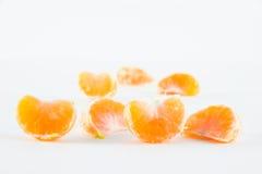 Mandarina, reticulata de la fruta cítrica imagenes de archivo