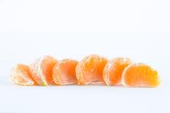 Mandarina, reticulata de la fruta cítrica fotografía de archivo libre de regalías