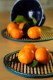 Mandarinas. Foto de archivo libre de regalías