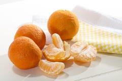 Mandarinas Fotos de archivo