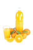 Mandarinas aisladas. Fotografía de archivo