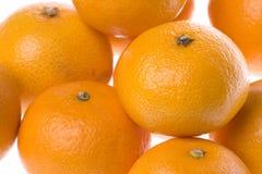 Mandarinas aisladas Fotografía de archivo