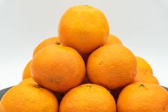 Mandarinas de España imagen de archivo libre de regalías