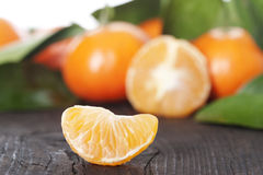 Mandarinas maduras Imagenes de archivo