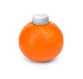 Mandarine avec le couvercle Photo de concept Photo stock