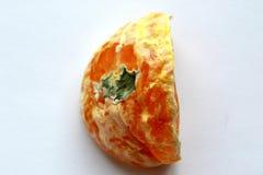 Mandarine avec le moule 2 Photographie stock