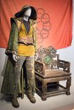 Mandarine Custume des Dix anneaux photo stock