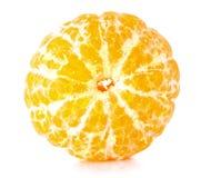 Mandarine d'isolement photos stock