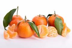 Mandarine d'isolement image stock