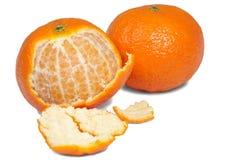 Mandarine deux images stock