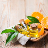 Mandarine essentielle organique, mandarine, huile de clémentine Photo stock