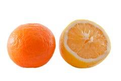 Mandarine et citron photos libres de droits