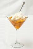 Mandarine furit Salat Lizenzfreie Stockbilder