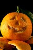 Mandarine Halloween Stockbild