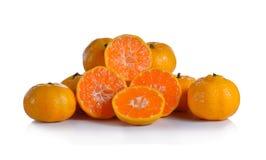 Mandarine juteuse mûre Image libre de droits