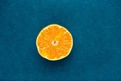Mandarine mûre photographie stock