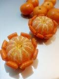 Mandarine/mandarine : Flower5 Photos libres de droits