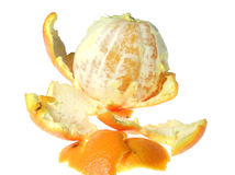 Mandarine peeled Stock Photo